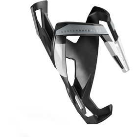 Elite Custom Race Plus Flaskeholder, black matte/white design